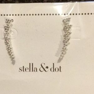 Stella & Dot New in Package Crystal Earrings